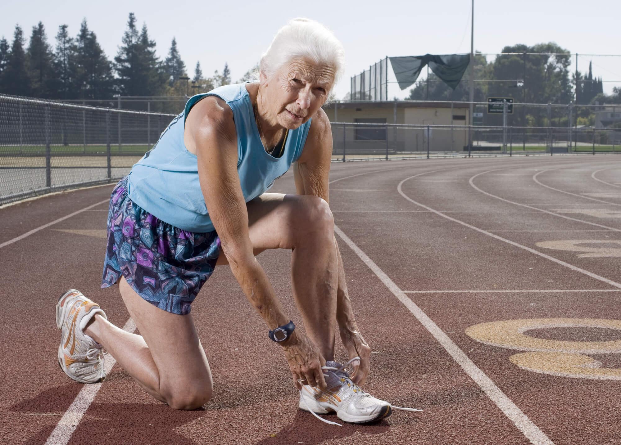 бег в пожилом возрасте польза и вред