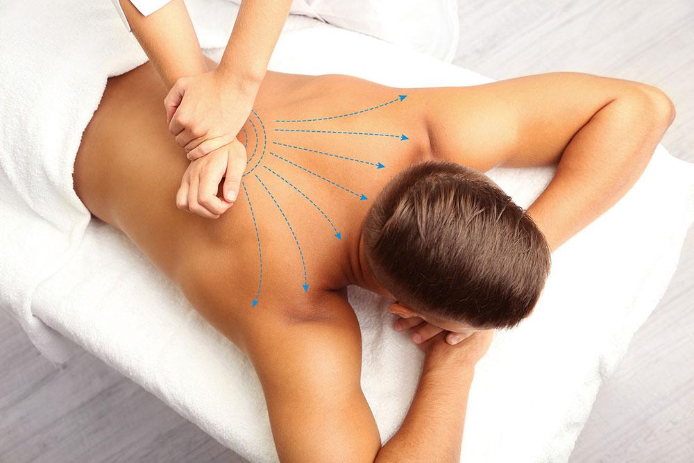чем полезен массаж спины и шеи при остеохондрозе
