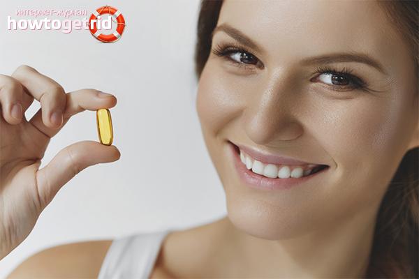 чем полезен витамин е в капсулах для лица