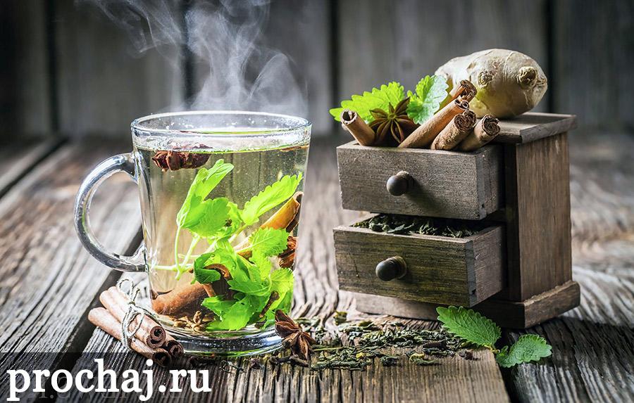 чем полезен зеленый чай с имбирем и корицей