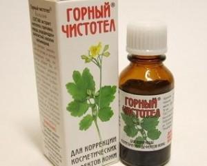 чистотел полезные свойства и применение при кожных заболеваниях