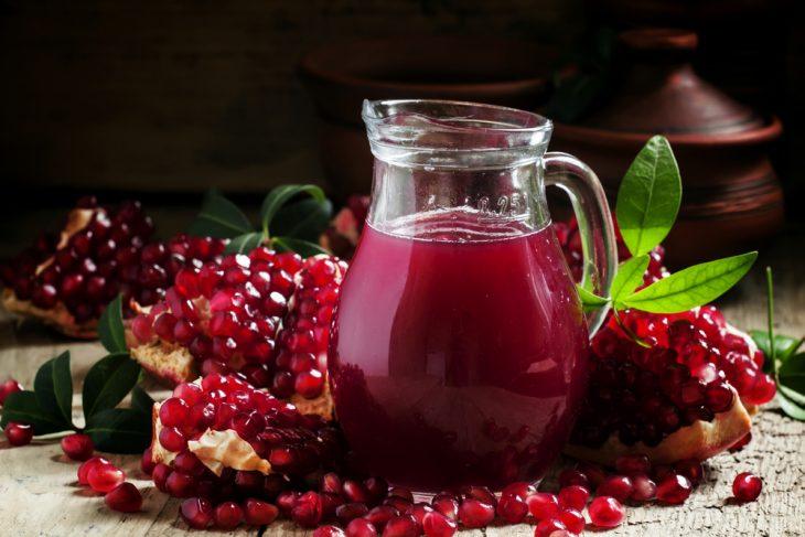 гранатовый сок свежевыжатый польза и вред
