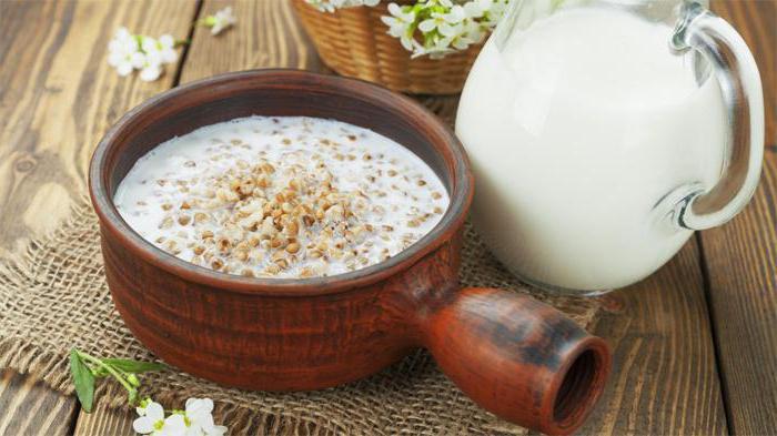 гречка с молоком вред или польза