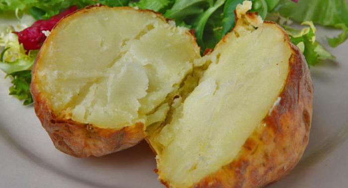 картофель печеный в микроволновке польза и вред