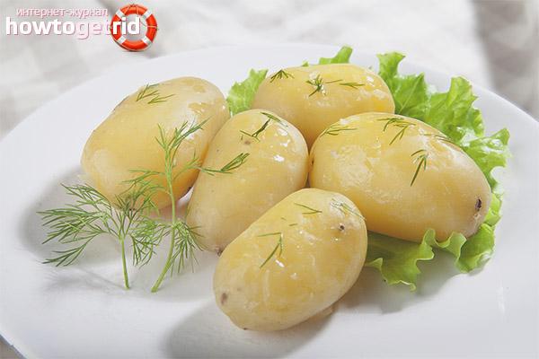 картошка в мундире вред и польза