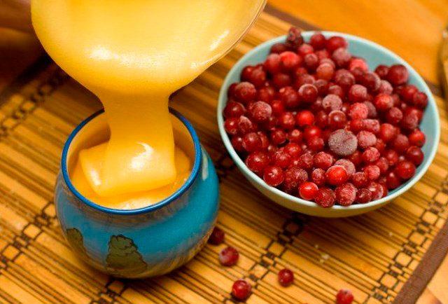 клюква с медом и лимоном полезные свойства и противопоказания
