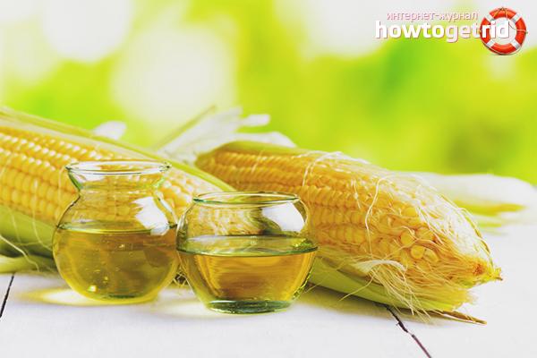 кукурузное масло польза и вред для похудения