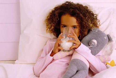 молоко на ночь польза или вред