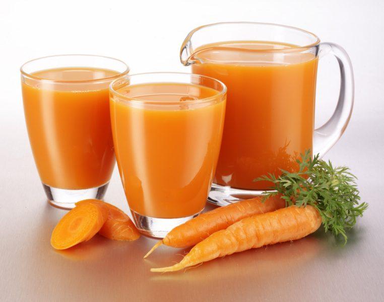 морковный сок польза и вред для желудка