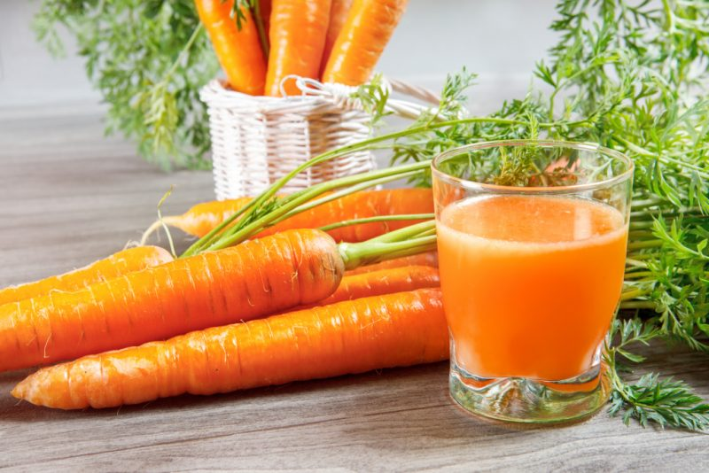 морковный сок со сливками польза и вред