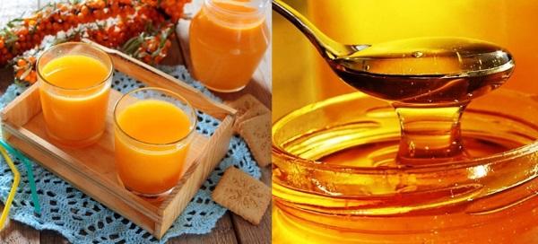 облепиха с медом рецепты приготовления без варки полезные свойства