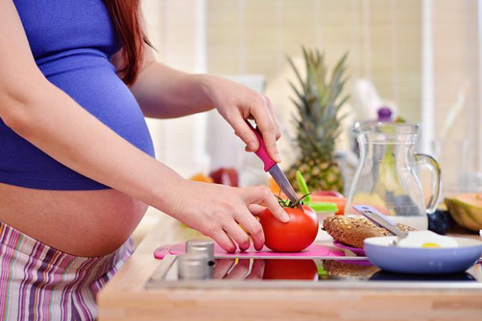 помидоры при беременности польза и вред