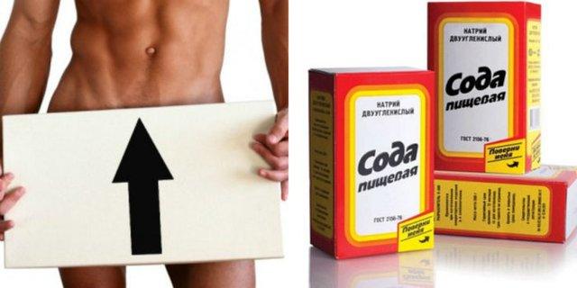 сода пищевая полезные свойства применение и лечение для потенции