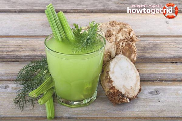 сок из стеблей сельдерея польза и вред