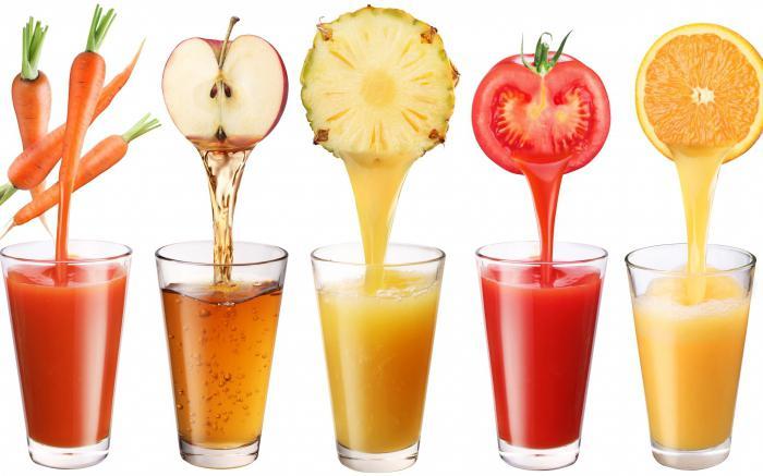 соки как пить натуральные соки польза и вред