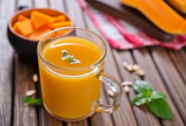 свежий тыквенный сок вред и польза