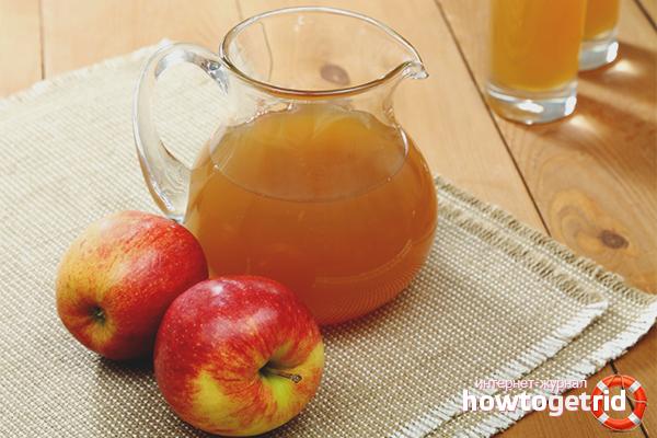 свежий яблочный сок польза и вред