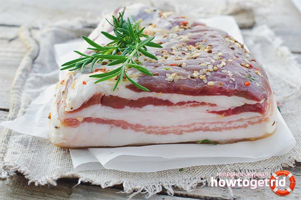 свиное сало топленое польза и вред