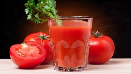 томатный сок из магазина польза и вред