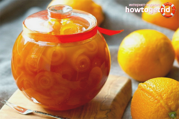 варенье из апельсиновых корок польза и вред