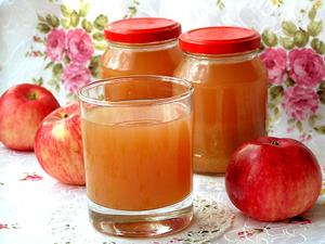 яблочный сок в соковарке на зиму польза и вред