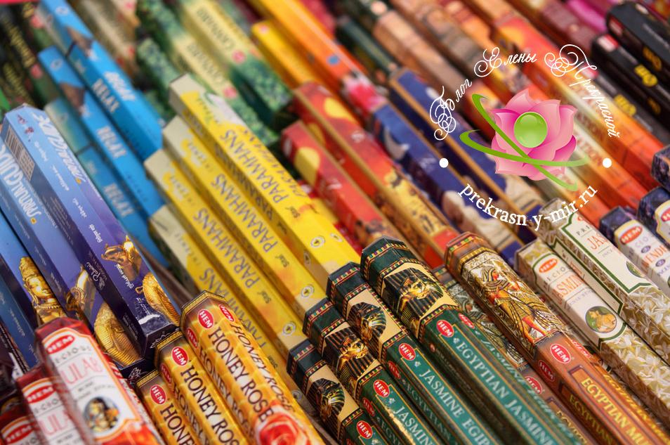 индийские палочки ароматические польза и вред