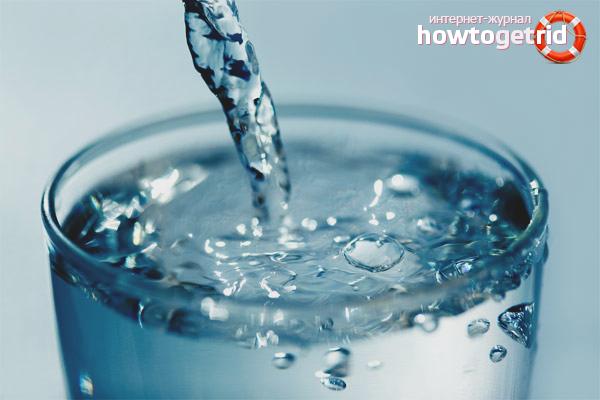 пить талую воду польза и вред