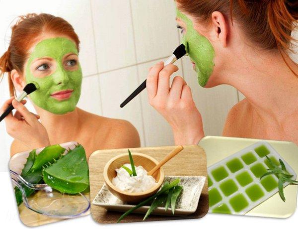 полезные свойства алоэ в косметологии в домашних условиях