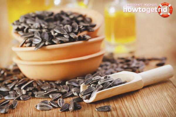 семена подсолнечника свежие польза и вред