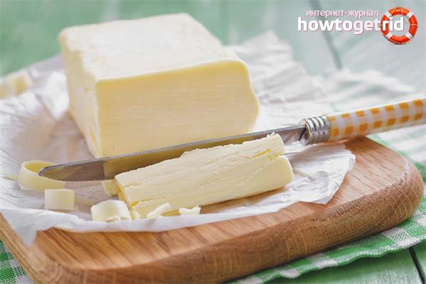 сливочное масло домашнее польза и вред