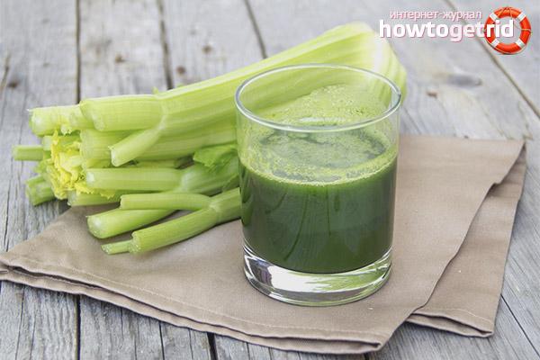 сок из корня сельдерея полезные свойства и противопоказания