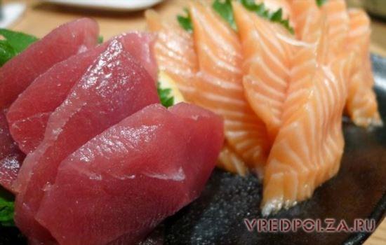 тунец польза и вред как готовить