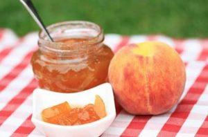 варенье из персика польза и вред