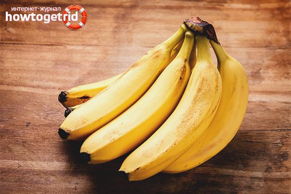 вред и польза бананов для организма