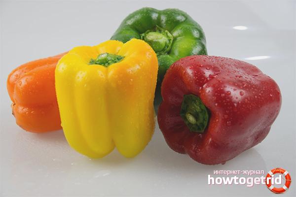 вред и польза красного сладкого перца