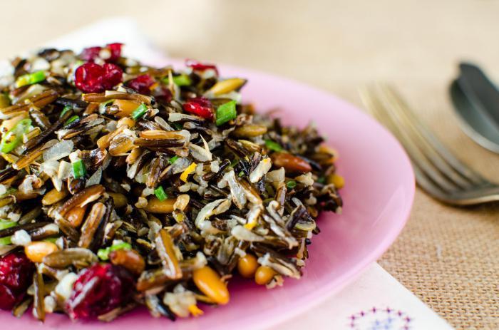 дикий рис польза и вред приготовление