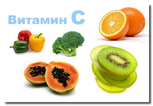 где содержится витамин с и чем он полезен