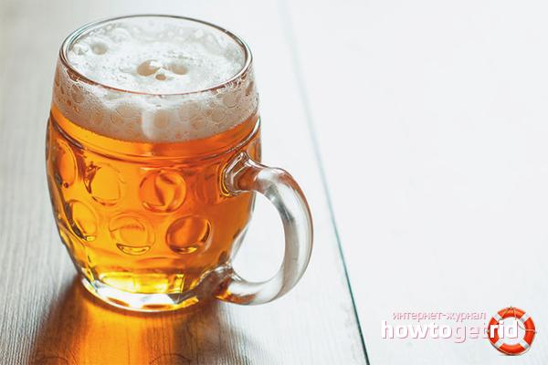 пиво темное вред и польза и вред