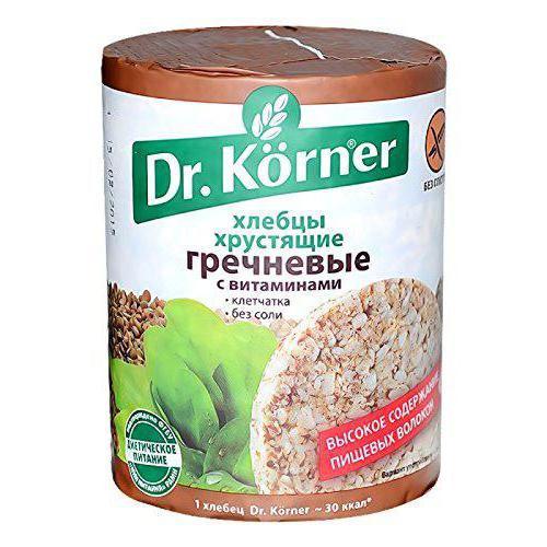 польза и вред хлебцев dr korner