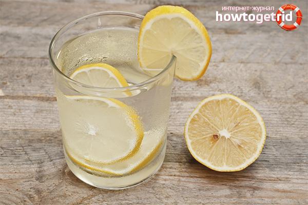 вода с лимоном вред или польза