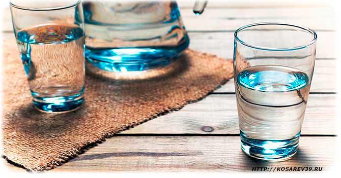 вред и польза воды для организма человека