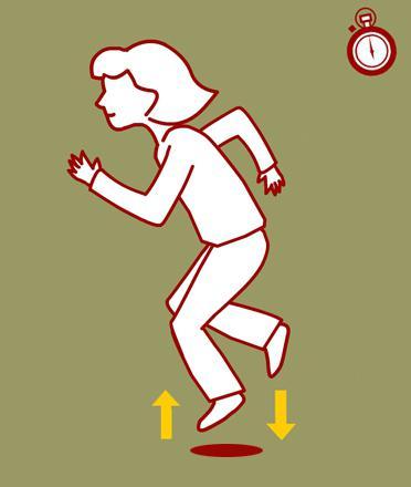 чем полезен бег на месте для похудения