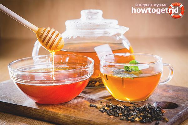чем полезен чай с медом на ночь