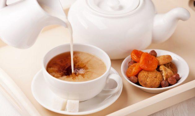 чем полезен чай с молоком и с медом
