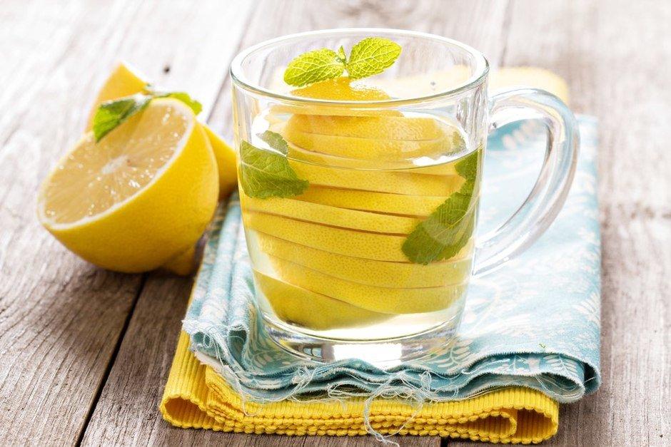 чем полезен с утра стакан воды с лимоном
