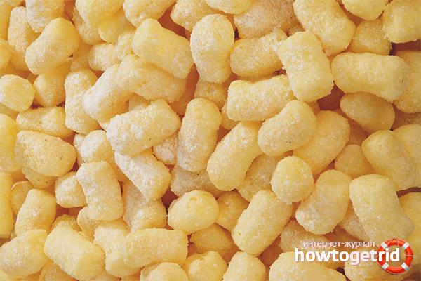кукурузные палочки сладкие польза и вред