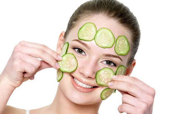 огуречные маски для лица польза и вред