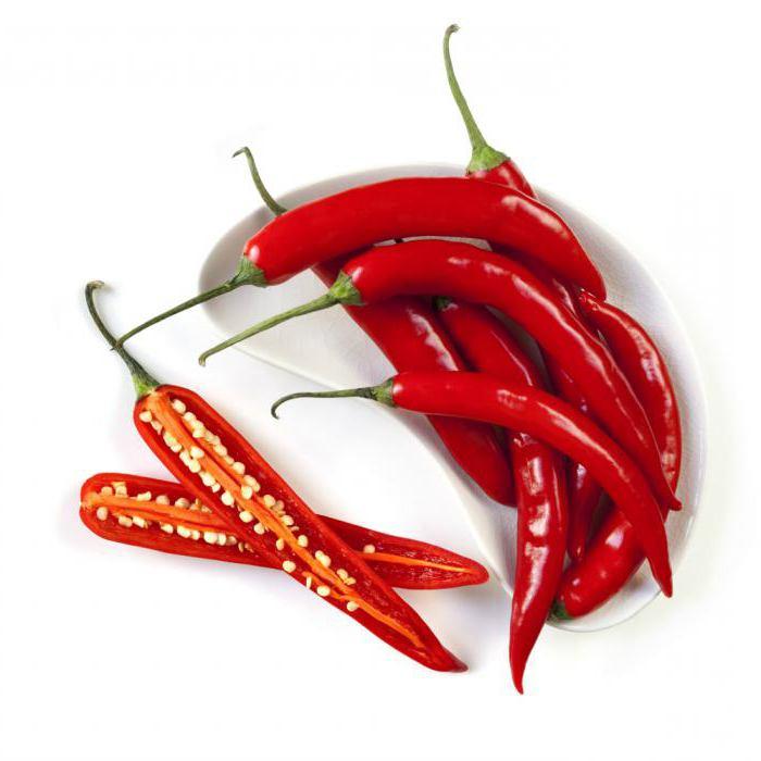 польза и вред красного острого перца