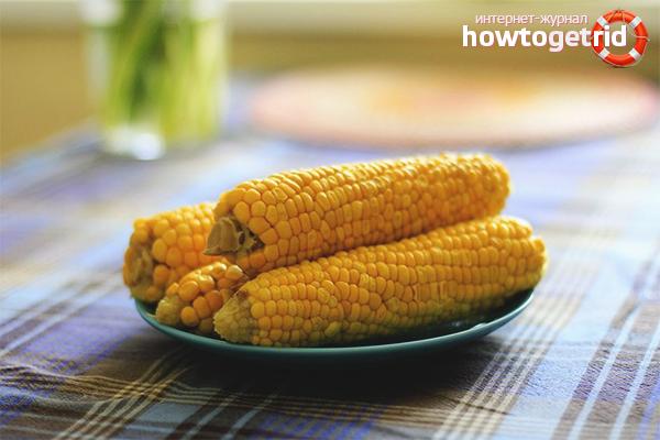польза и вред от вареной кукурузы