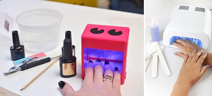 польза и вред уф лампы для ногтей